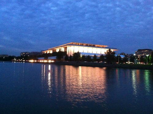 Kennedy Center from the Potomac | by C.E. Kent