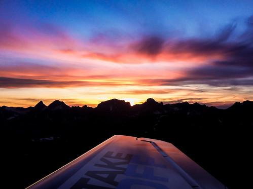 switzerland suisse airplaneview