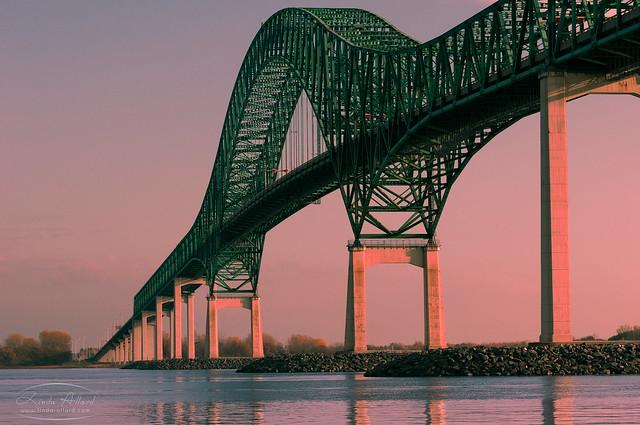 Pont Laviolette de Trois-Rivières (Québec, Canada)