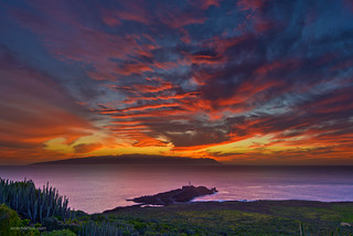 La Gomera Sunset - Nikon D800E - Full Size   by Ansgar Hillebrand