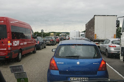 Stau Autobahn A6