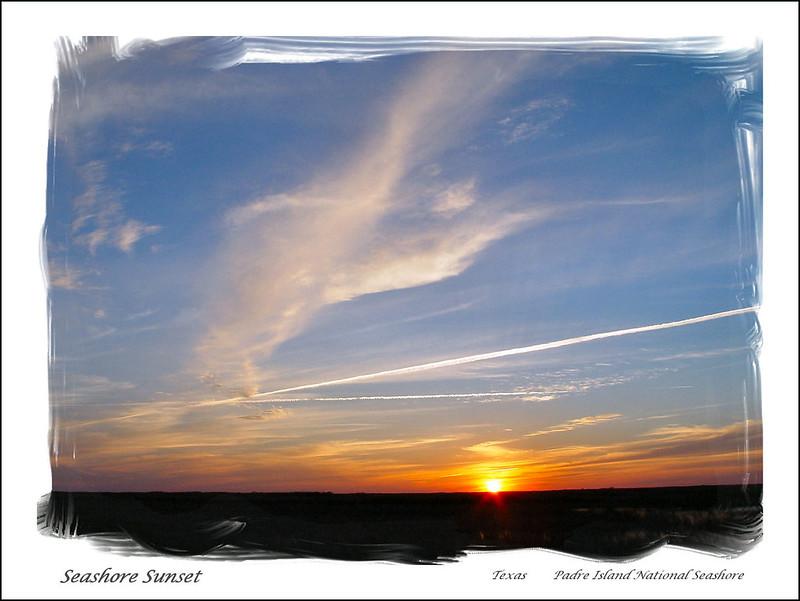 07849-Seashore Sunset