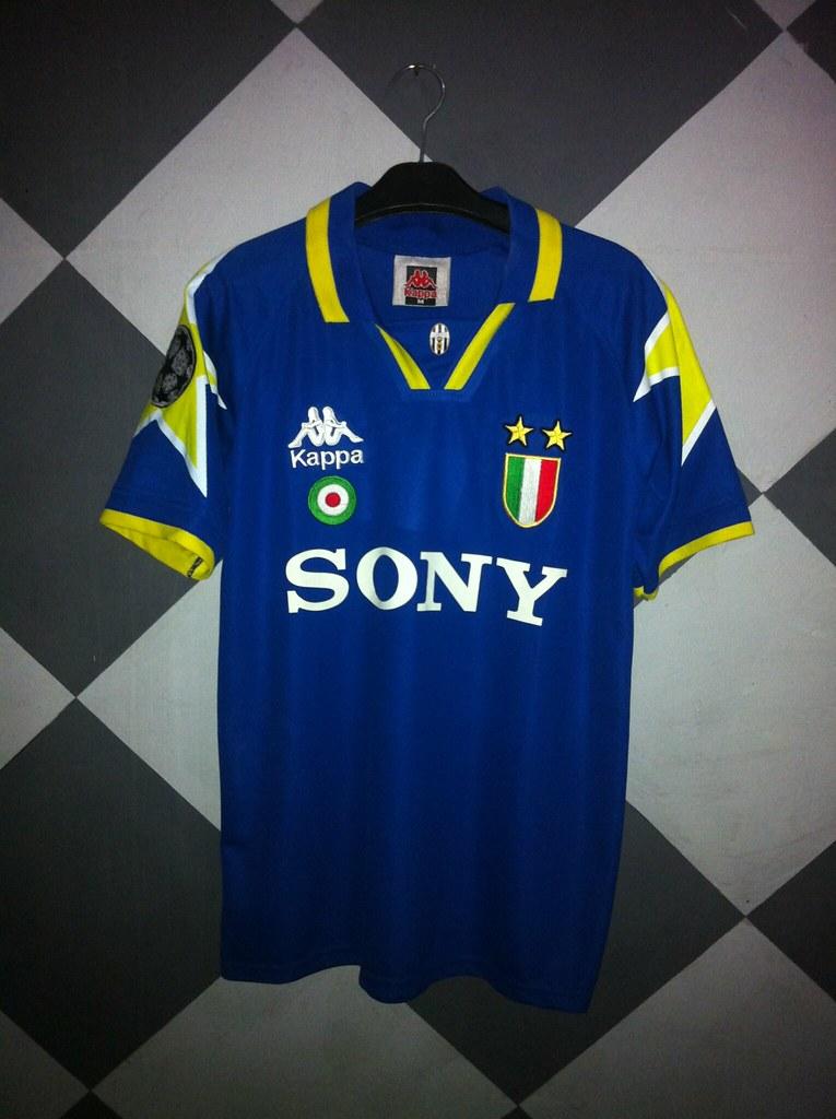 d61834b86 ... fathansa_bintang jersey juventus away 1995/1996 | by fathansa_bintang