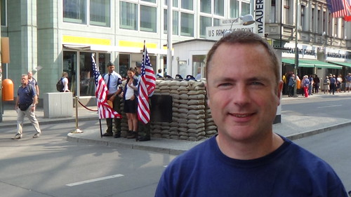 Berlin Checkpoint Charlie Aug 13 2