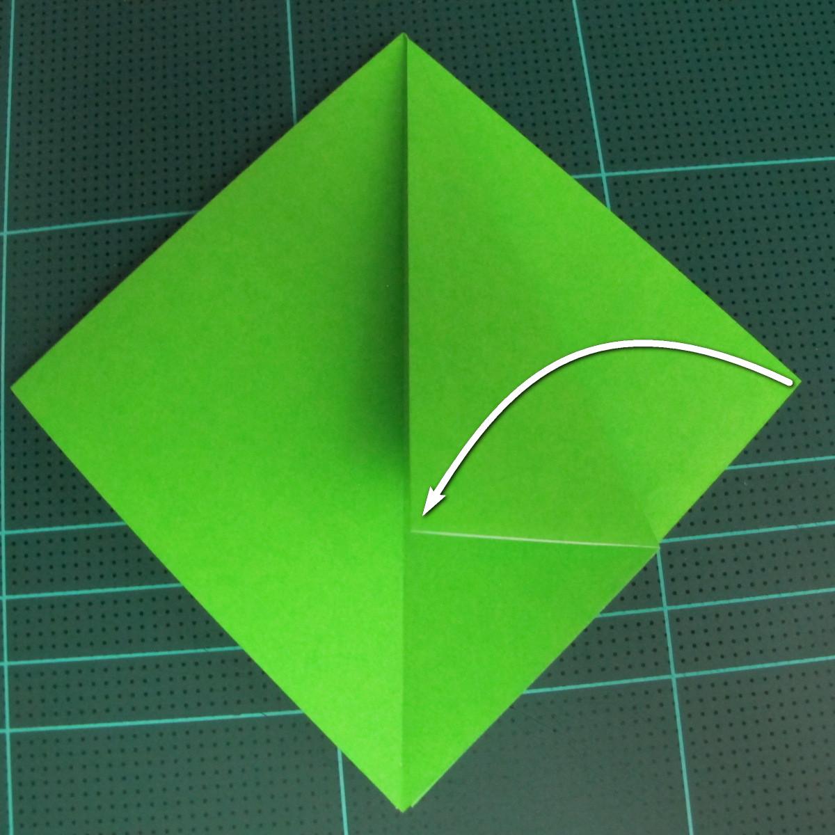 วิธีพับกระดาษเป็นจรวด X-WING สตาร์วอร์ (Origami X-WING) 006
