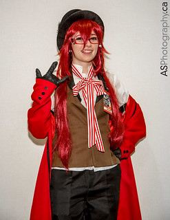 Cosplayer at con-G 6