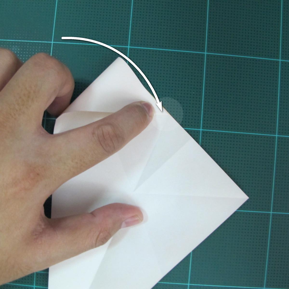 วิธีการพับกระดาษรูปม้าน้ำ (Origami Seahorse) 010