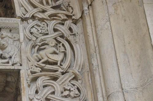 Modène (Emilie-Romagne), la cathédrale - sculpture romane : la porte des princes ou porte du baptème - 21 | by roger joseph