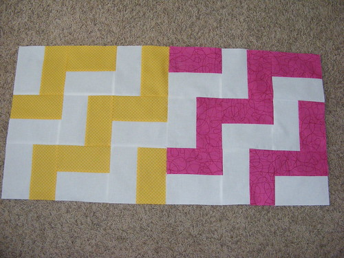 April block for Quilting newBees