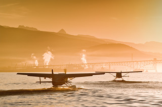 Seaplanes departing Vancouver, British Columbia, Canada. | by BCVacation