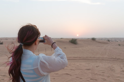 sunset dubai desert sharjah unitedarabemirates