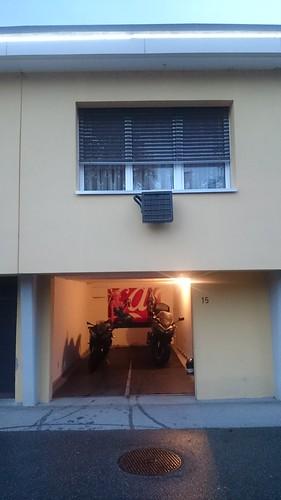 Privat garasje med hotell rommet | by jarleheed