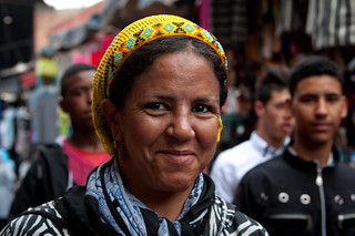 Portrait of woman in Marrakesh   by World Bank Photo Collection