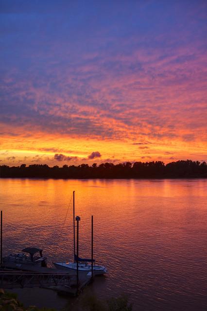 Sailboats 1, Ohio River, Owensboro, KY