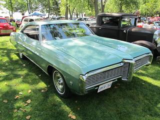 1968 Pontiac Grande Parisienne 396 coupe,Autofest 2013,Lake View Park Oshawa 131