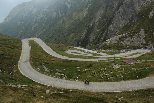 Descent...on a cobbled road
