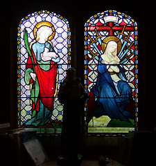 St Agnes and Our Lady of Sorrows (Hardman & Co)