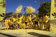 The Color Run - Yellow Team