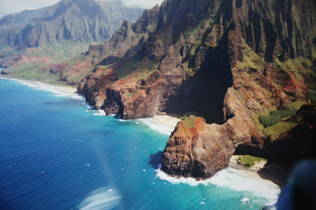 Helicopter View of Kauai: Na Pali Coast