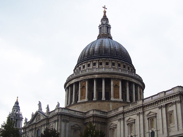 St Paul's Cathedral Dome, London, September 2008