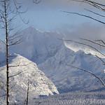 Glacier Nationla Park in Winter