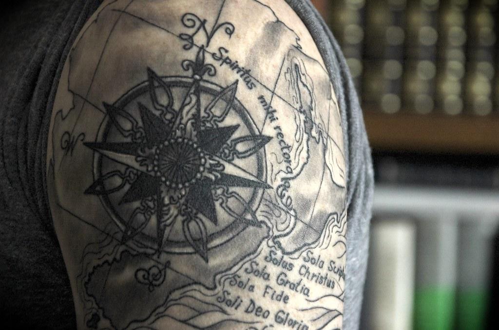Gratia tattoo fide sola sola Sola Scriptura