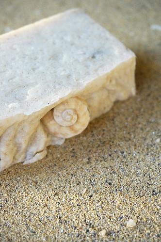 песочное мыло