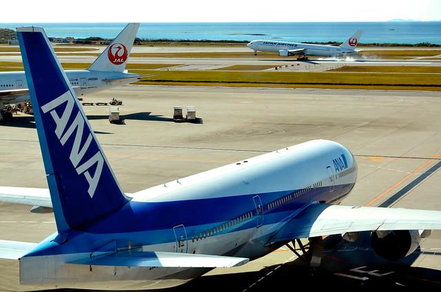 Nice,Touchdown! @那覇空港-Naha Airport