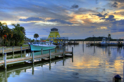 sunset sky water marina canon eos pier boat fishing florida explored 60d canoneos60d flutterbye216