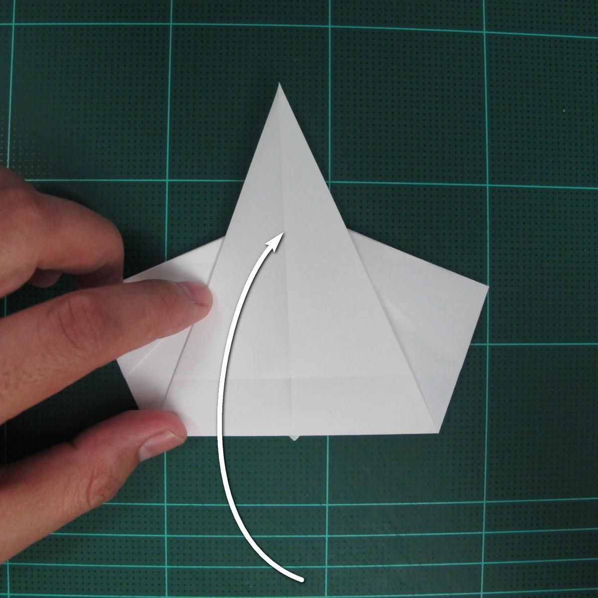 วิธีพับกระดาษเป็นรูปปลาแซลม่อน (Origami Salmon) 023