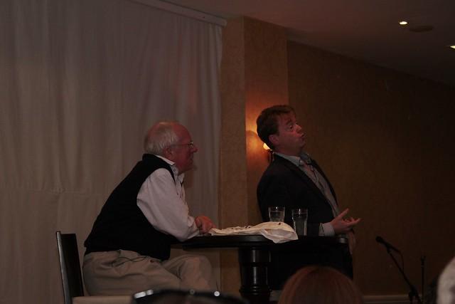 Robert Fisk  and David McWilliams