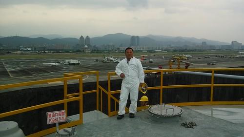 照片03-102年松山機場油槽檢查.