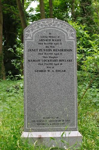 Grave of Arnaud Massy