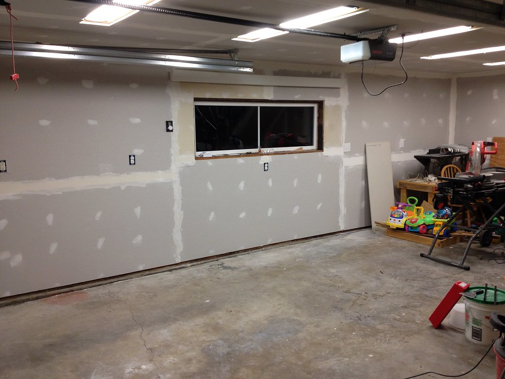 Drywall installed ina Garage   Feel free to use this picture…   Flickr