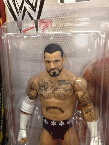 CM Punk (toy) at the Drug Store