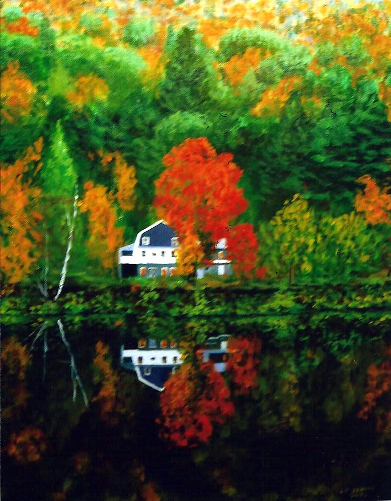 Outstanding Paintings By Pete Jendro Minnesota Artist Solitary Home Download Free Architecture Designs Scobabritishbridgeorg