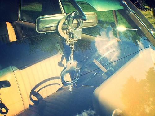 car mirror police policecar handcuffs myramuseum uploaded:by=flickrmobile flickriosapp:filter=nofilter