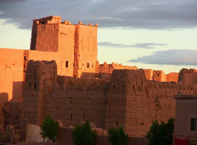 Marokko , Quarzazate, KasbahTaourirt, 09001/2633