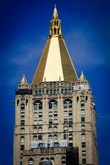 Tower of New York Life Building, Manhattan, Flatiron