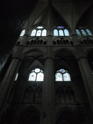 Nave Elevation, St. Etienne de Bourges | by Nathan Mizrachi