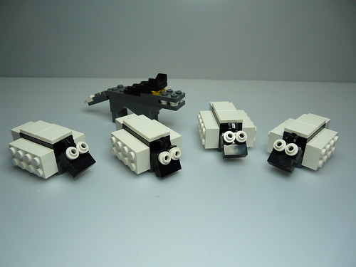 Lego  Game Shave a Sheep