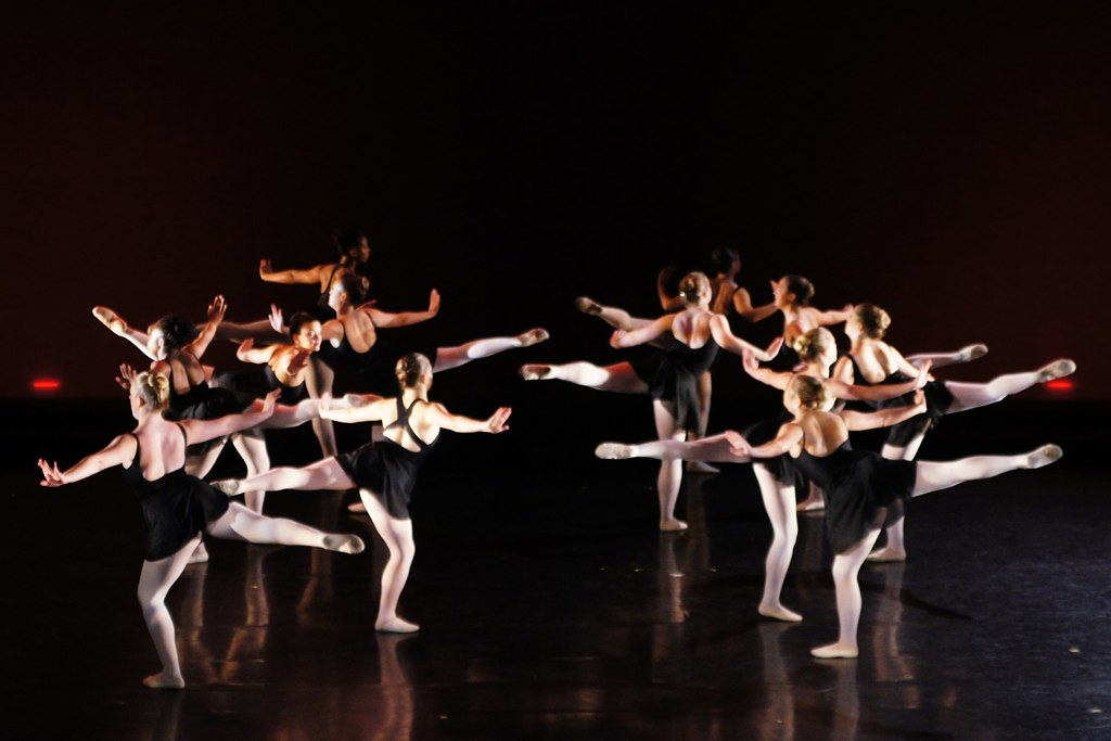 Group dance pose