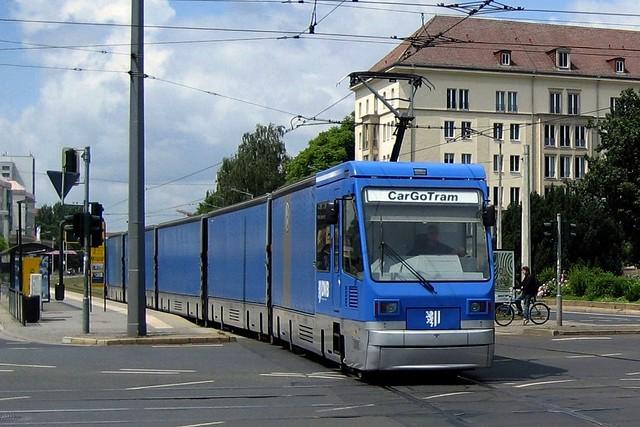 CarGo Tram Dresden - 21. Juni 2010