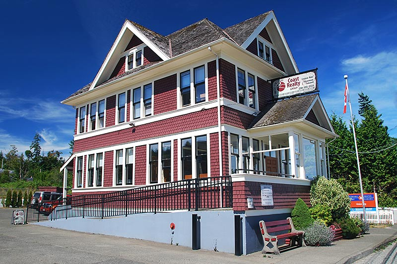 Union Bay Post Office, Union Bay, Vancouver Island, British Columbia