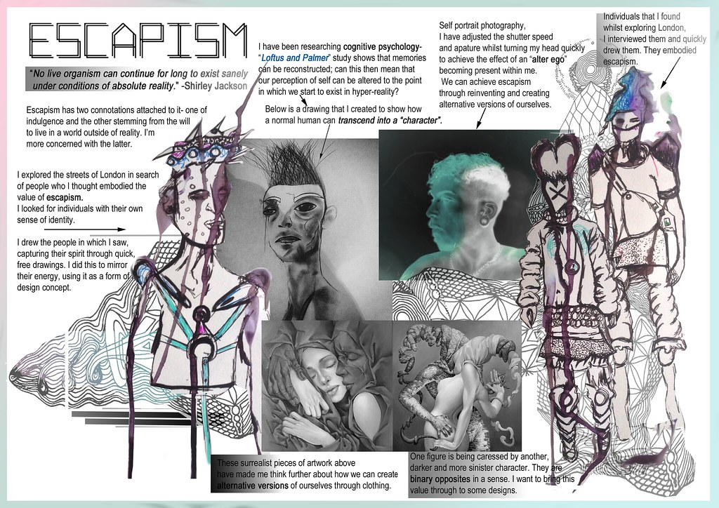 Zavia Savva S Fashion Design Online Portfolio For Brighton University Flickr