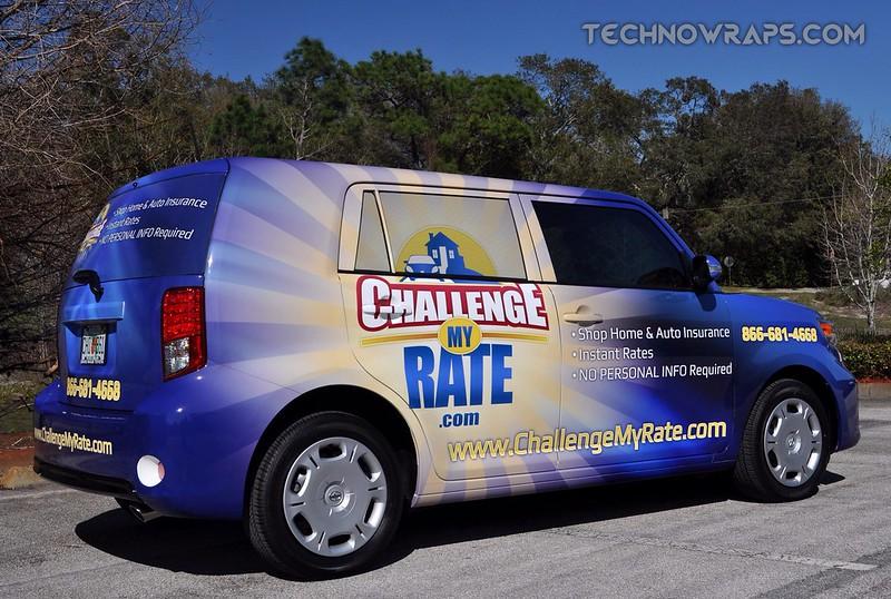 Orlando Scion Xb car wrap