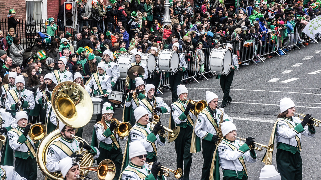 Clover Hill High School, Virginia, USA [Saint Patrick's Pa… | Flickr