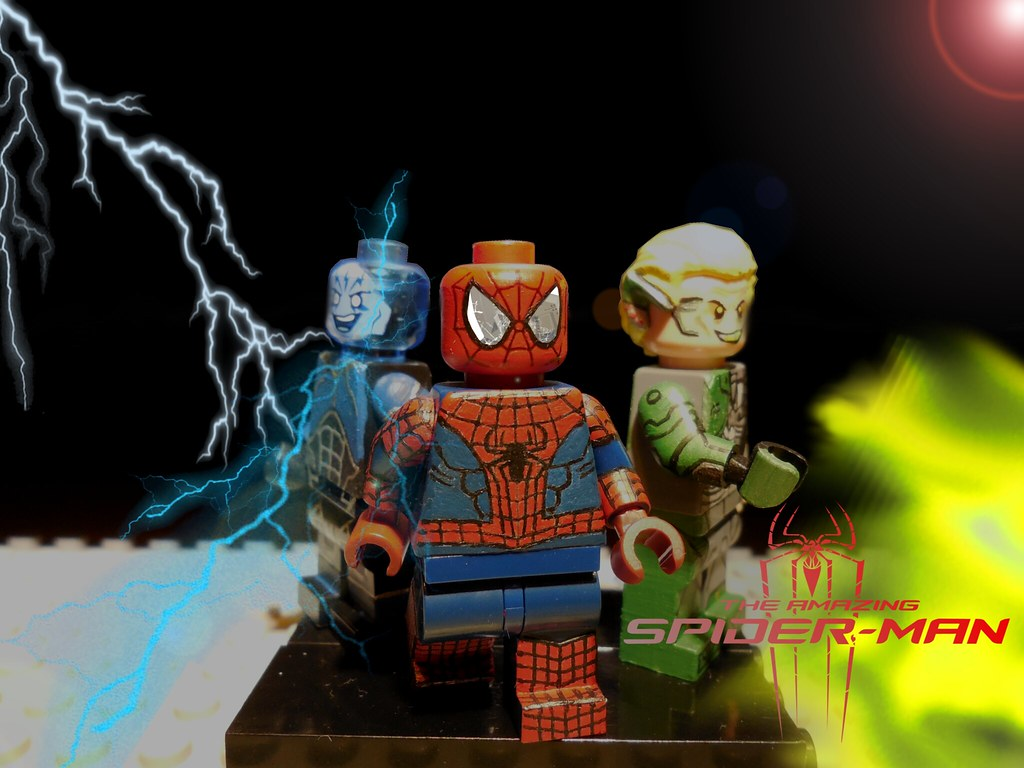 Lego The Amazing Spiderman 2 Victor Vincent Flickr