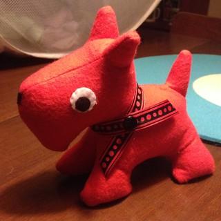 Red Scotty Dog
