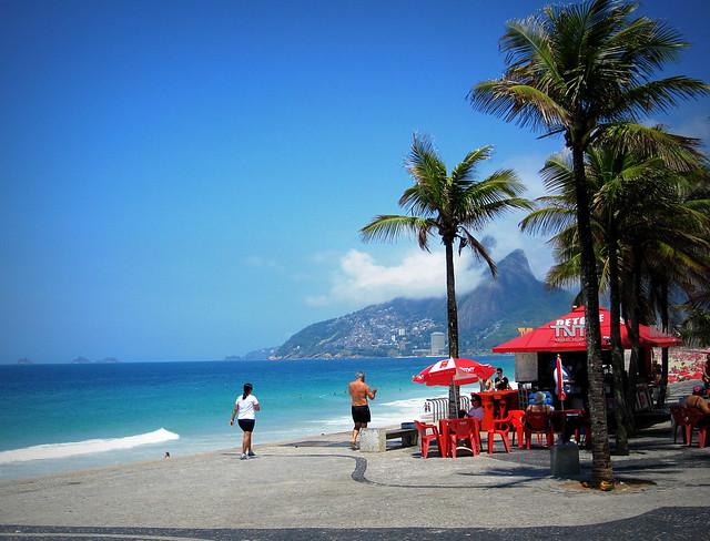 #BeachScene #RiodeJaneiro , #Brazil